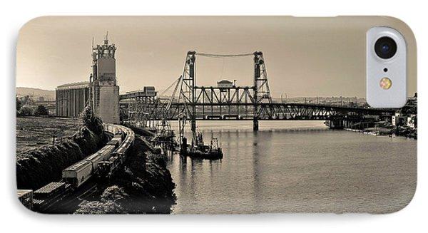 Portland Steel Bridge IPhone Case by Albert Seger