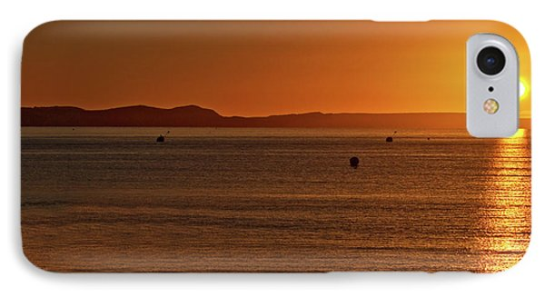 IPhone Case featuring the photograph Portland Sunrise by Baggieoldboy