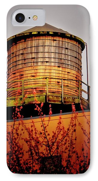 Portland Water Tower IIi IPhone Case by Albert Seger