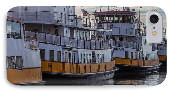 Portlands Casco Bay Lines IPhone Case by Capt Gerry Hare