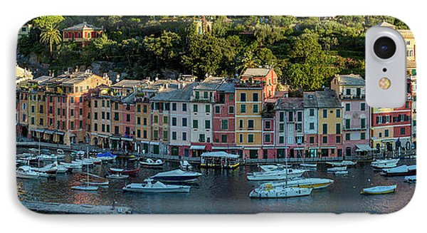 IPhone Case featuring the photograph Portofino Morning Panoramic II by Brian Jannsen