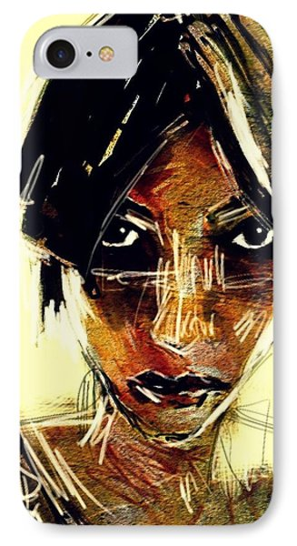 Portrait 08oct2015 IPhone Case