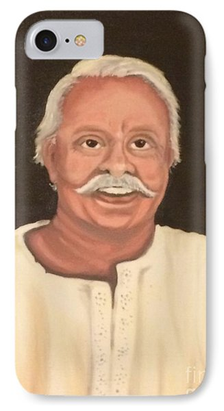 IPhone Case featuring the painting Portrait 2 by Brindha Naveen