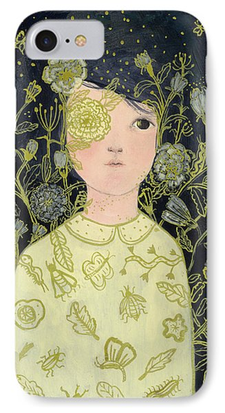Portrait At Night IPhone Case by Paola Zakimi