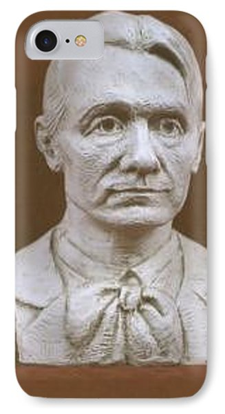 Portrait Bust Of Rudolf Steiner Phone Case by David Dozier
