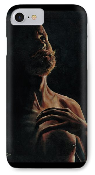 Portrait In Contemplation IPhone Case