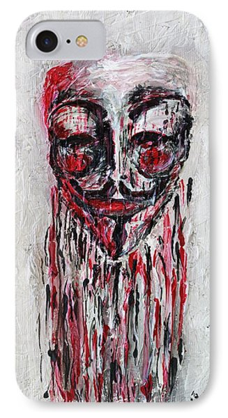 Portrait Melting Of Anonymous Mask Chan Wikileak Occupy Guy Fawkes Sopa Mpaa Pirate Lulz Reddit IPhone Case