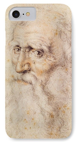 Portrait Of A Bearded Old Man IPhone Case