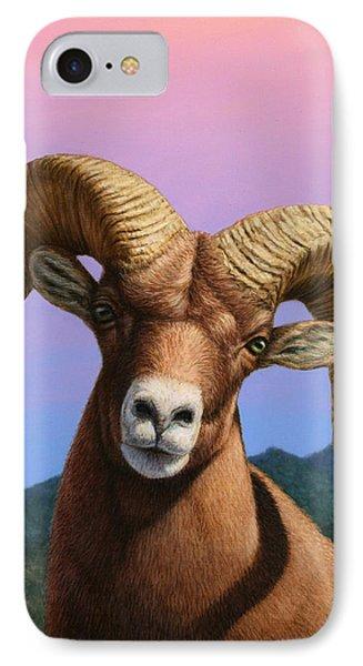 Portrait Of A Bighorn IPhone Case