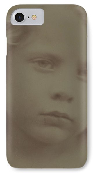 Portrait Of A Child, 1866 IPhone Case by Julia Margaret Cameron