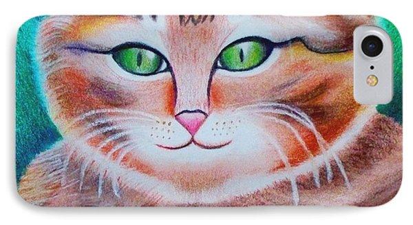 Portrait Of A Kitten IPhone Case