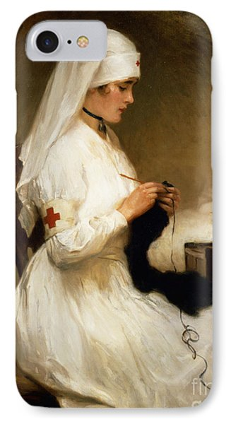 Portrait Of A Nurse From The Red Cross IPhone Case