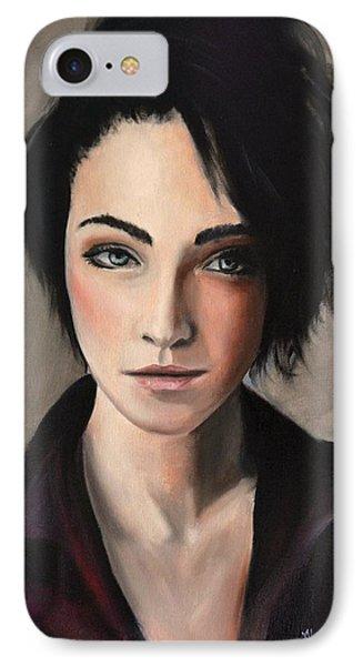Portrait Of A Woman #2 IPhone Case