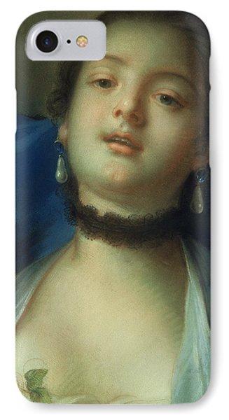 Portrait Of A Woman  Phone Case by Francois Boucher