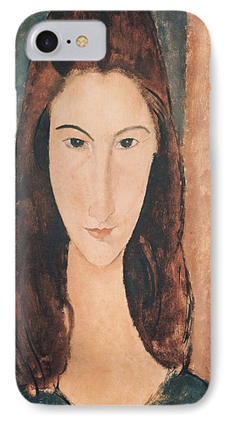 Portrait Of A Young Girl IPhone Case by Amedeo Modigliani