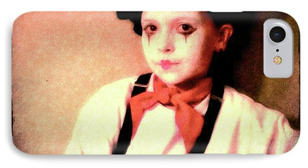 Portrait Of A Young Mime IPhone Case