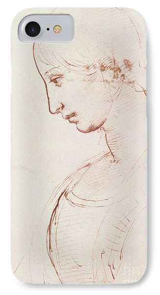 Portrait Of A Young Woman  IPhone Case