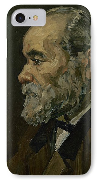 Portrait Of An Old Man IPhone Case by Vincent van Gogh