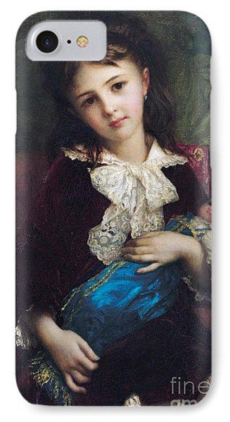 Portrait Of Catherine Du Bouchage IPhone Case