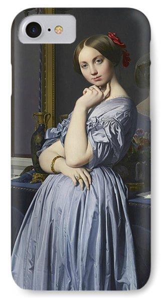 Portrait Of Comtesse D'haussonville IPhone Case by Jean-Auguste-Dominique Ingres