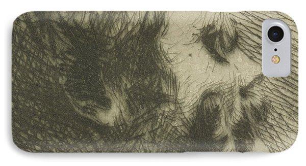 Portrait Of Edgar Degas IPhone Case
