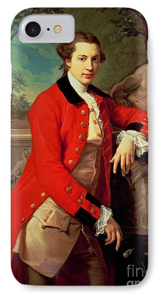 Portrait Of Edmund Rolfe IPhone Case