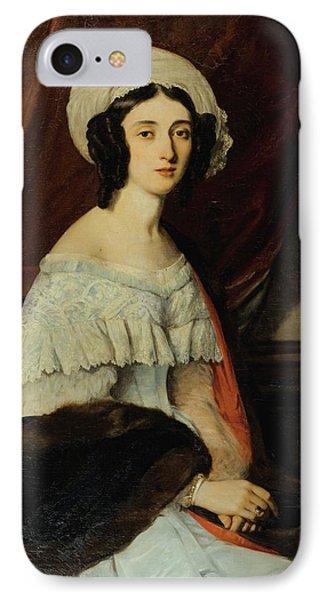 Portrait Of Eugnie Gabrielle Barbou IPhone Case