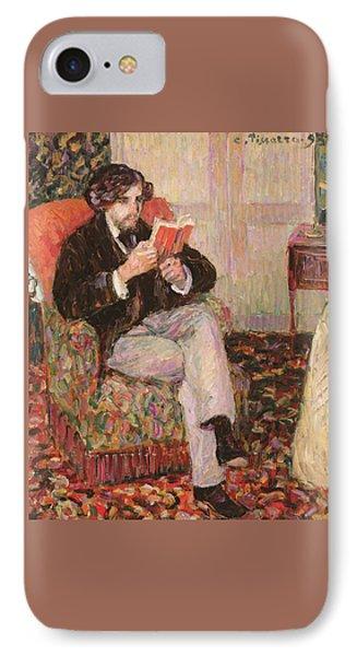 Portrait Of Felix IPhone Case by Camille Pissarro