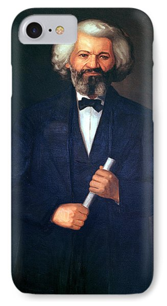 Portrait Of Frederick Douglass IPhone Case by American School