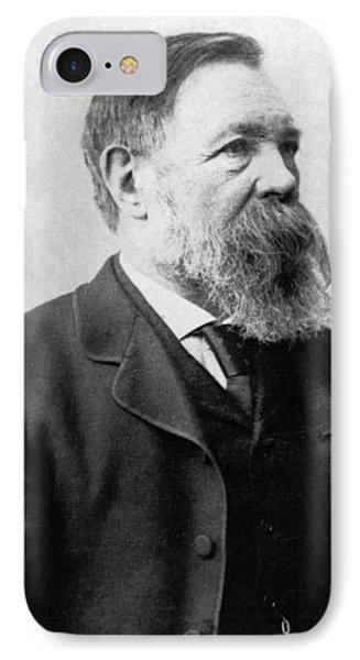 Portrait Of Friedrich Engels IPhone Case by German School