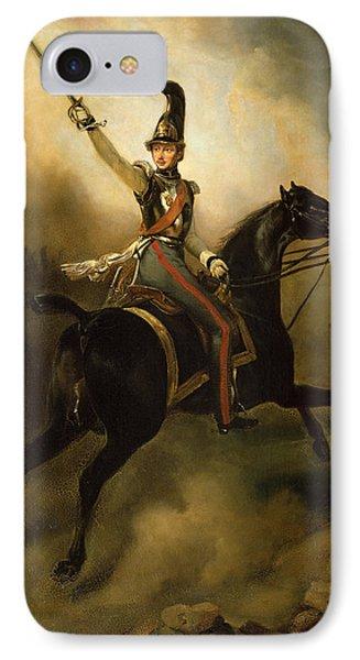 Portrait Of Friedrich Heinrich Phone Case by Emile Jean Horace Vernet