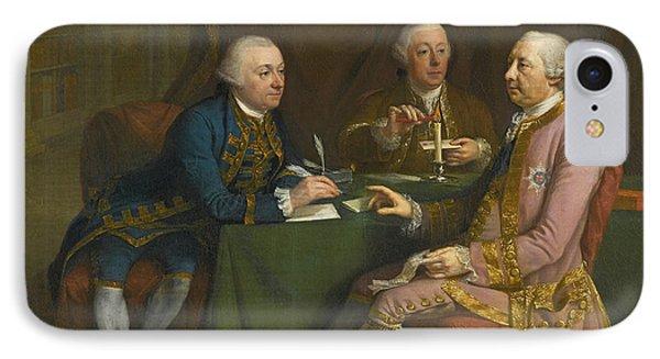 Portrait Of George Montagu Dunk IPhone Case by Hugh Douglas