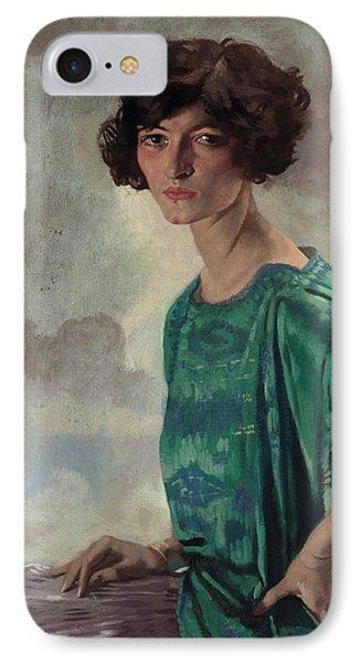 Portrait Of Gertrude Sanford IPhone Case