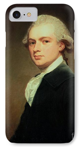 Portrait Of Henry Russell IPhone Case by George Romney
