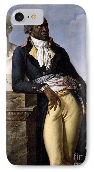 Portrait Of Jean-baptiste Belley IPhone Case by Anne Louis Girodet de Roucy-Trioson