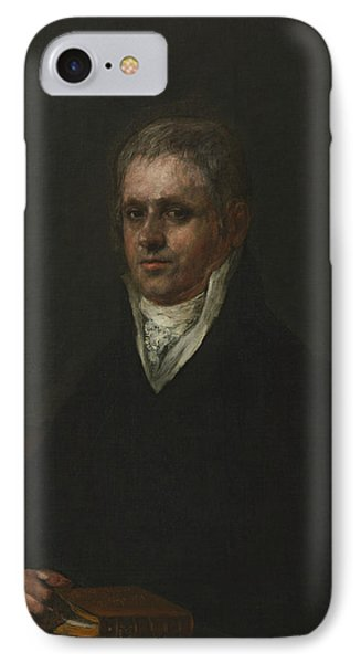 Portrait Of Jose Munarriz IPhone Case by Francisco Goya