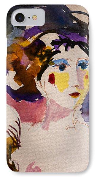 Portrait Of Joy IPhone Case