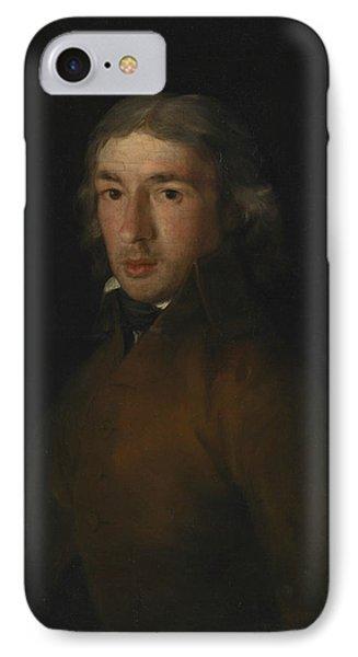 Portrait Of Leandro Fernandez Moratin IPhone Case by Francisco Goya