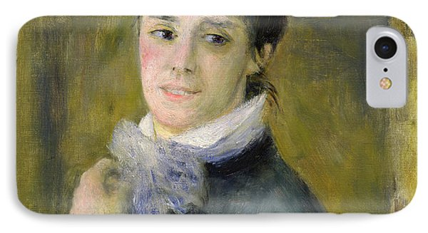 Portrait Of Madame Claude Monet Phone Case by Renoir
