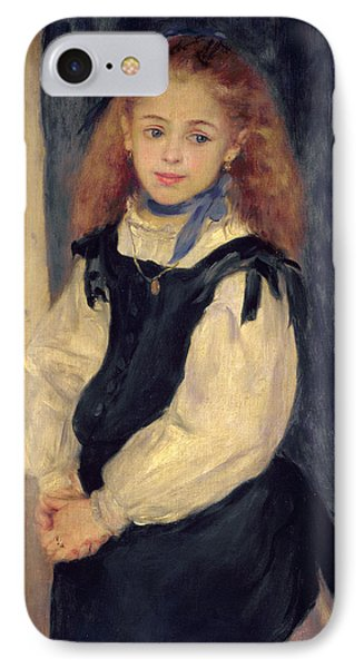 Portrait Of Mademoiselle Legrand Phone Case by Pierre Auguste Renoir