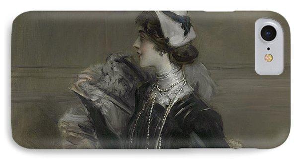 Portrait Of Mademoiselle Lina Cavalieri IPhone Case
