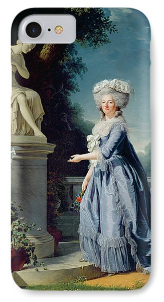 Portrait Of Marie-louise Victoire De France IPhone Case by Adelaide Labille-Guiard