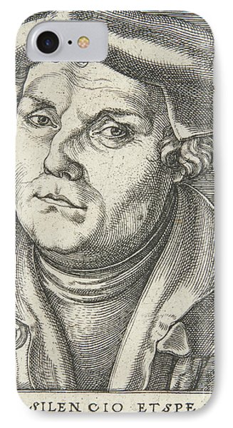 Portrait Of Martin Luther, 1530  IPhone Case by Italian School