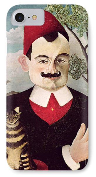 Portrait Of Pierre Loti Phone Case by Henri Rousseau