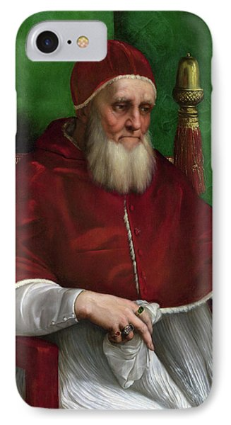 Portrait Of Pope Julius II - 1511 Phone Case by Raphael