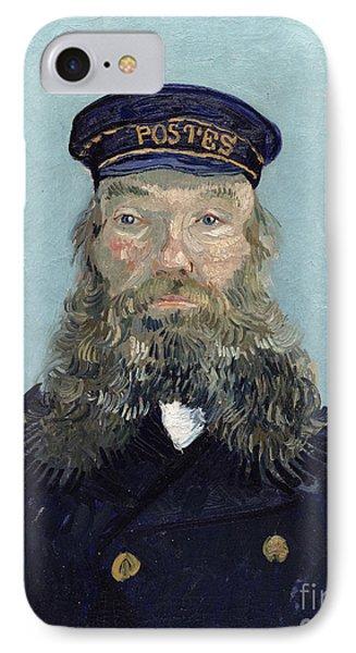 Portrait Of Postman Roulin Phone Case by Vincent van Gogh