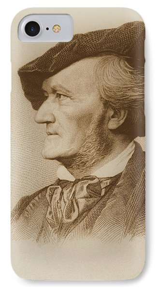 Portrait Of Richard Wagner IPhone Case by Robert Reyher