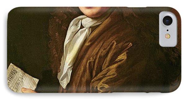 Portrait Of Samuel Pepys IPhone Case by John Hayls
