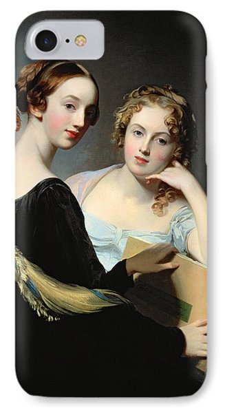 Portrait Of The Mceuen Sisters IPhone Case