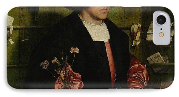 Portrait Of The Merchant George Gisze IPhone Case